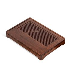 """Bamboo Tea Tray """"Shuang Yu"""" ( Twin Fishes) / Board / Saucer with Water Tank Two Chinese Tea Set, Tea Tray, Water Tank, Bamboo, Board, Mall, Twin, Dunk Tank, Twins"""