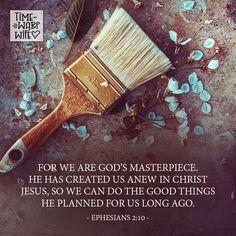 Ephesians 2:10 - #christianity #christian #bible #faith #jesuschrist #God #love #christianencouragement #truth #biblestudy