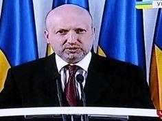 Украина.Поздровления О.Турчинова с Пасхой