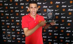 Angel Di Maria - Manchester United's player of the month. September 2014