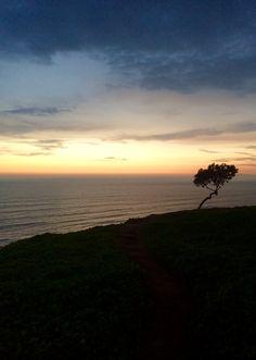 Sunset desde Miraflores, Lima.