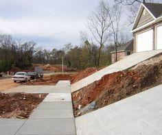 Steep Driveway on the new house being built (Austin, Taylor: school, exemptions) - Texas (TX) - City-Data Forum