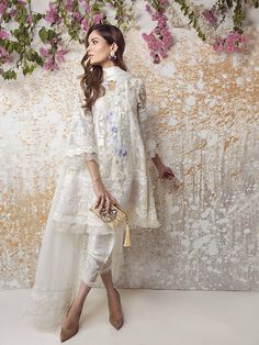 What's not to love- the all new Farah Talib Aziz ready to wear luxe pret collection is just what you need this festive season! Featuring a mix of embellished cotton net and printed silk tunic…