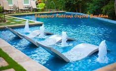You definitely want to have a pool instead of your home. Pool to relax, exercise and to cool the mind while having problems. But the swimming pool is not something that can be easily and practicall… Swimming Pool Waterfall, Small Swimming Pools, Luxury Swimming Pools, Best Swimming, Luxury Pools, Dream Pools, Swimming Pools Backyard, Swimming Pool Designs, Pool Spa