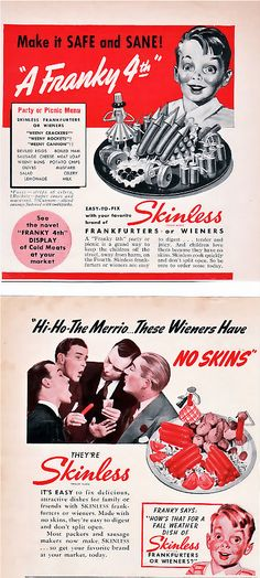 Nothing says fun like a bunch of dudes singing the praises of skinless wieners.