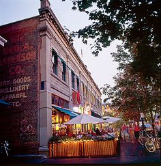 Boise Downtown 8th Street.  One of our favorite spots for a great bite and cold beer - BitterCreek
