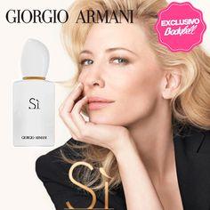 """""""Un homenaje a la mujer moderna"""" Giorgio Armani presenta SÍ WHITE Edición limitada, #Exclusivo en @Bodybell. #Zielo"""