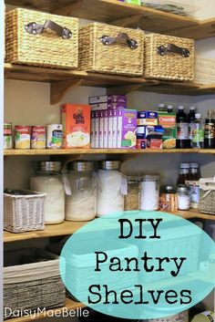 DIY Pantry Makeover! {with full tutorial!}