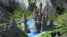 The Lonely Castle Minecraft Project
