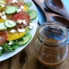 "Our Favorite Balsamic Vinaigrette | ""Simple and delicious! Definitely use a good quality balsamic and you can't go wrong."""