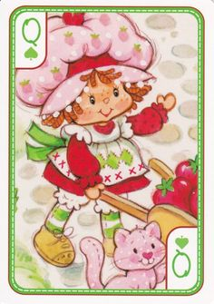 SSC Playing Cards - Best Deck - 34 Strawberry Shortcake Pictures, Strawberry Shortcake Characters, Vintage Strawberry Shortcake, Cool Cartoons, Disney Cartoons, Childhood Toys, Childhood Memories, My Melody Wallpaper, Cool Deck