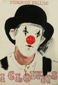 Clowns film de Fellini, 1970, Dessinateur anonyme