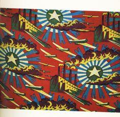 Communism in textiles: Soviet fabrics from the and Textile Patterns, Textile Prints, Textile Design, Textile Art, Fabric Design, Fabric Art, Cotton Fabric, Russian Constructivism, Communist Propaganda