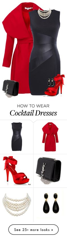 """""""Lady-like"""" by the-l0st-girl on Polyvore featuring Keepsake the Label, Pleaser, Yves Saint Laurent, Christian Dior, women's clothing, women's fashion, women, female, woman and misses"""