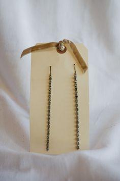 Vintage Earrings - $79. Sold at Royal Bloom Boutique - 75 Arbor Rd. suite W. Menlo Park, CA. Photo by www.fotomokio.com