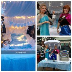 Frozen themed  Trunk or Treat ideas
