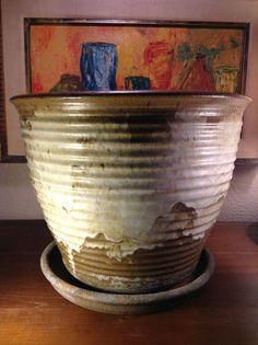 Mid Century Planter Gainey Kinzie Doyle Lane Cressey Era Interest Speckle Glaze | eBay