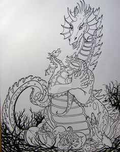 Dragon Delight by HouseofChabrier.deviantart.com on @DeviantArt
