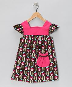 Take a look at this Nordic Bird Corduroy Sophie Dress - Infant, Toddler & Girls by Sweet Petunia on #zulily today!