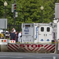 The White House went into lockdown Friday afternoon after what federal law enforcement agencies said was a shooting outside.