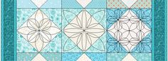 Stencils can be found in the Block Library under EQ7 Libraries > 07 Stencils. You can also draw your own stencils on the Block Worktable! When designing quilts, you should place your quiltin