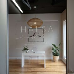 Lobby and window graphics
