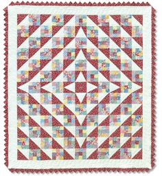 Patches of Life Quilt: Eleanor Burns Signature Quilt Pattern 73527201232 - Quilt in a Day Books