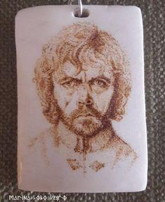 Retrato pirograbado Tyrion Lannister