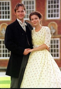 Steven Mackintosh and Anna Friel in Our Mutual Friend (1998).