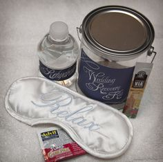 A welcome alternative - the Recovery Kit!  In place of or as part of a gift for OOT guests, the wedding party or anyone!