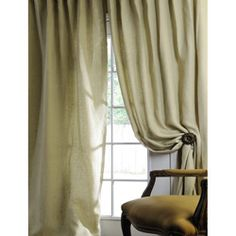 @Overstock - This curtain has been tailored by artisans from the finest linens for a polished look. Constructed of 100-percent linen with a high-quality cotton lining, this window panel is as durable as it is beautiful.http://www.overstock.com/Home-Garden/Signature-Celadon-Linen-96-inch-Curtain-Panel/4709693/product.html?CID=214117 $ 74.99