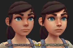 Sculpting & Texturing: Stylized Character in 3D Eye Texture, Texture Art, Texture Painting, Character Base, Character Concept, Character Design, Character Modeling, Character Inspiration, Animation Stop Motion