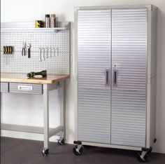 garage storage cabinets with wheels. garage storage systems stainless steel kitchen cabinets laundry stockpiling #sevilleclassics with wheels