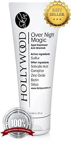 Over Night Magic With Salicylic acid and sulfur Spot treatment thats STRONGER than the regular acne treatments 60 ml -- You can find more details by visiting the image link. (This is an affiliate link) Acne Treatments, Acne Spot Treatment, Organic Tea Tree Oil, How To Reduce Pimples, Organic Body Wash, Acne Cream, Benzoyl Peroxide, Acne Spots, Salicylic Acid