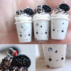 "446 Likes, 21 Comments - angie (@mycoto_) on Instagram: ""Oreo Cookies & Creme Milkshakes! came up with this idea while I was staring at my Oreo mold I…"""