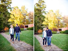© Nicole Dixon Photographic Columbus Ohio Outdoor Engagement Session Fall