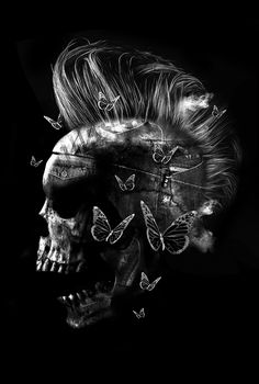 FANTASMAGORIK® SKULL DENIM by obery nicolas, via Behance