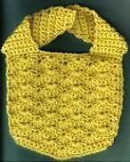 Solid Shells Baby Bib designed by Sandi Marshall