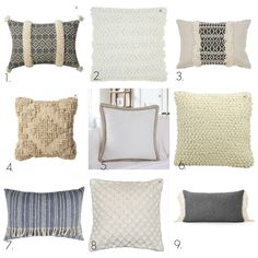 Pretty modern pillows and other great finds from Walmart at Thrifty Decor Chick! Modern Pillows, Decorative Throw Pillows, Galvanized Tiered Tray, Tall Shelves, Mesh Wreath Tutorial, Thrifty Decor Chick, Beautiful Home Designs, Modern Console Tables, Transitional Decor