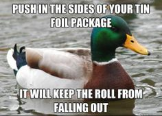 Top Ten Animal Memes of 2013. Actual Advice Mallard is an advice animal image macro series featuring a photograph of a male wild duck accompanied by captions containing life hacks and other useful information.  Source: Know Your Meme  http://knowyourmeme.com/