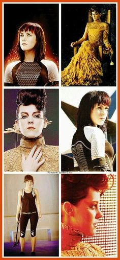 Johanna Mason. The best character ever created in a book. Well Tonks,Tris,Clove and Cressida is pretty great too.