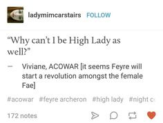 *Smirks YAAAAAAAAASSSSSS Viviana ACOWAR ACOMAF ACOTARS SARAH J MAAS