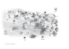 DISSING+WEITLING architecture's forslag til Kongsberg Kunnskaps & Kulturtorg.