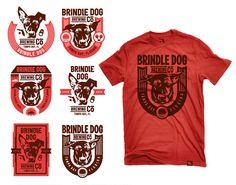 Brindle Dog Brewing Co by Kendrick Kidd via www.mr-cup.com