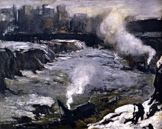 Pennsylvania Excavation by George Wesley Bellows