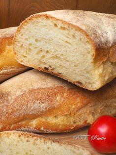 Italian Bread Recipes, Focaccia Pizza, I Love Pizza, Croissant, Biscotti, Bakery, Homemade, Pane Pizza, Breads