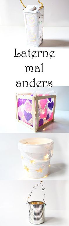 Laterne basteln mal anders Video Laterne mit Kindern basteln schnelle und einfache Ideen The post Laterne basteln mal anders Video appeared first on Kinder ideen. Diy For Kids, Crafts For Kids, Arts And Crafts, Fall Crafts, Diy Crafts, Holiday Club, How To Make Lanterns, Recycled Art, Fall Diy