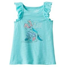 Disney's+The+Little+Mermaid+Ariel+Toddler+Girl+Sequin+Slubbed+Tank+Top+by+Jumping+Beans