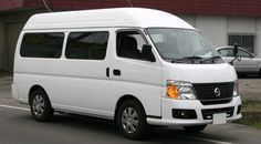 """This model is from 2001year. It's super long body and 10 seater which has slide door on left back side. There are two grade , the one is """"DX"""" and another one is """"GX"""". GX is highroof model which has 265mm height inside.   KA24DE Engine / 140ps / 2388cc / 4 Cylineder  QR25DE Engine / 147ps / 2488cc / 4 Cylineder CARAVAN is the representative van of NISSAN. And this CARAVAN COACH model is used for bus and for handicapped too. Japanese most popular van is TOYOTA HIACE VAN. But it's so expensive…"""