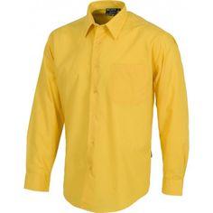 Camisa de manga larga con cierre de botones. Referencia  B8000 Marca:  WorkTeam  Camisa de manga larga con cierre de botones. Puño de botón. Un bolso de pecho. Canesú en la espalda.